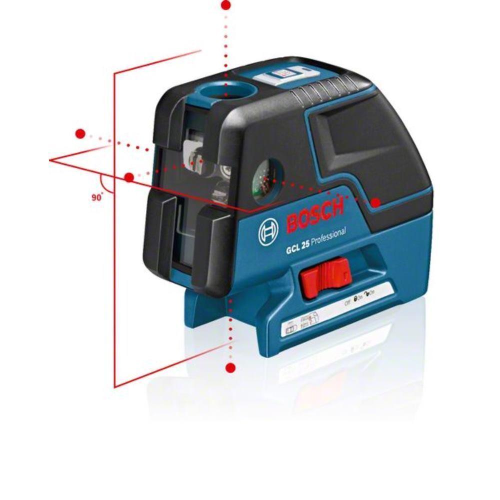 BOSCH Punktlaser GCL 25 Professional mit Tasche und Batterien