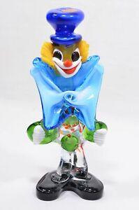 Murano Art Glass Clown Figurine