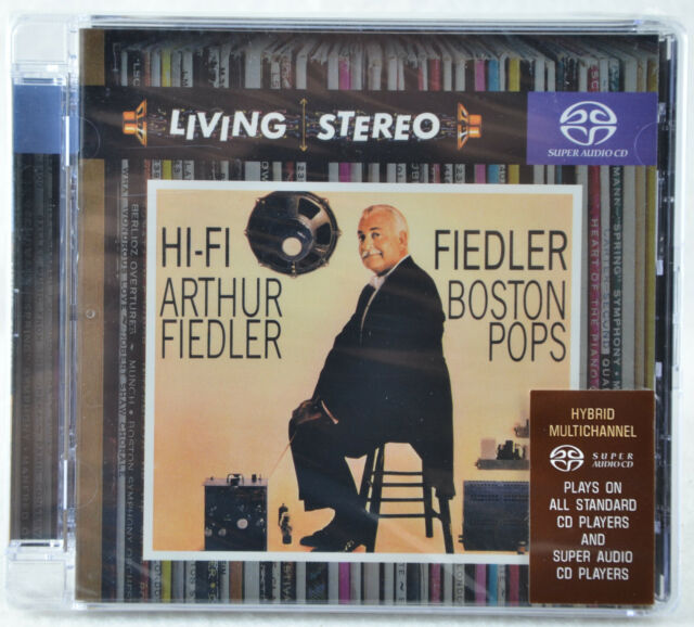 HI-FI FIEDLER & THE BOSTON POPS - Sony Red Seal Living Stereo - SACD CD Hybrid