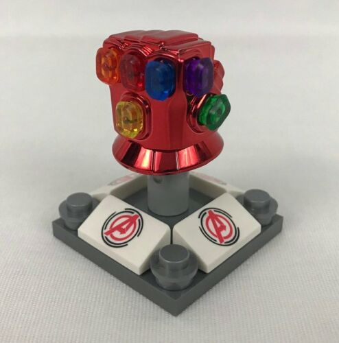 IN STOCK Avengers End Game Iron Man Red Nano Infinity Gauntlet All 6 stones