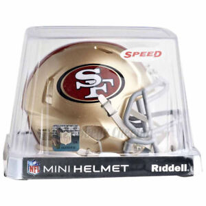 SAN-FRANCISCO-49ERS-RIDDELL-NFL-MINI-SPEED-FOOTBALL-HELMET