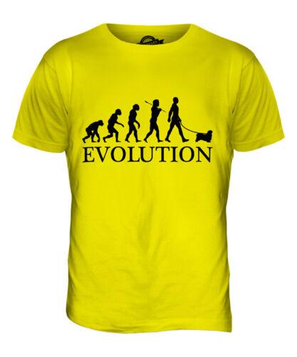 TIBETAN SPANIEL EVOLUTION OF MAN MENS T-SHIRT TEE TOP DOG LOVER GIFT WALKER