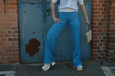 O Timwear Parigi Colpo Pantaloni Pantaloni Pantaloni Tessuto 70er True Vintage Pants Trousers Nos-mostra Il Titolo Originale Il Prezzo Rimane Stabile