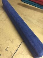 (2) Royal Blue - 7' Boat Trailer Bunk Boards 2x4 - W/ Carpet - Outdoor Marine