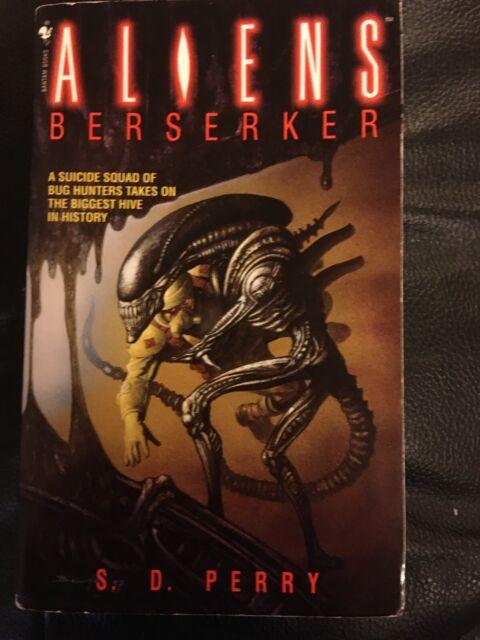 Aliens Berserker - S. D. Perry - Bantam Spectra Dark Horse Rare Paperback book