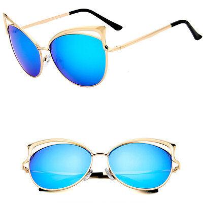 Fashion Cat Eye Sunglasses Classic Designer Women Retro Shades Eyewear A