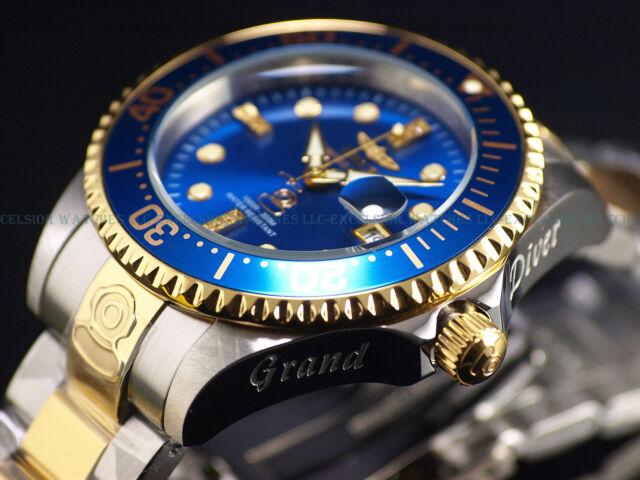 New Invicta Men's 300M Diamond Grand Diver Automatic Ltd.Ed. Bue Dial TT Watch