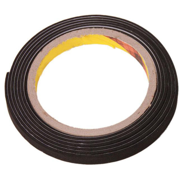 Self Adhesive Foam Sealing Tape Strip Draught Excluder EPDM Rubber Photograph 2M