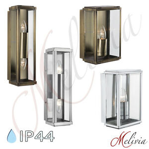 au enlampe au enleuchte messing schwarz chrom glas ip44 wandlampe wandleuchte ebay. Black Bedroom Furniture Sets. Home Design Ideas