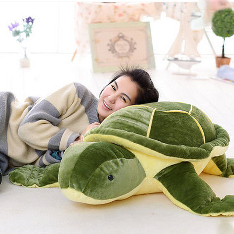 Hot Giant Huge Big Plush Tortoise Turtle Stuffed Animal Soft Toys