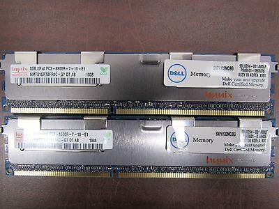 Dell SNPH132MC//8G Hynix 8GB 2Rx4 PC3-8500R-7-10-E1  Pair 6D