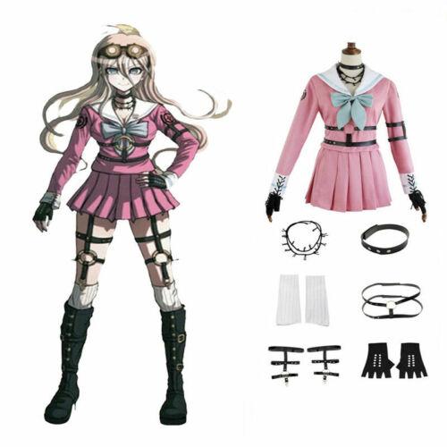 Danganronpa V3 Iruma Miu Rabbit Cosplay Halloween Christmas Costume