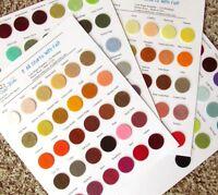 Wool Blend Felt Color Cards - 126 Colors