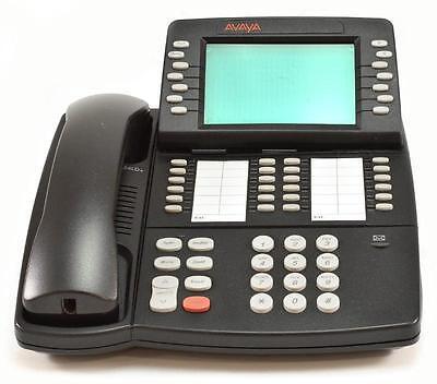 Black Display Phone Fully Refurbished Avaya Merlin Magix 4412D