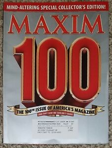 Maxim April 2006 100th Issue Special Collectors Edition Ana Hickmann
