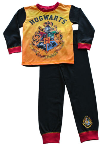 Boys Harry Potter Pyjamas Harry Potter Pajamas Hogwarts Pjs Ages 7 to 12 Years