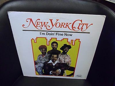 New York City I M Doing Fine Now Lp Vinyl 1973 Chelsea