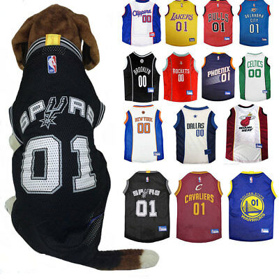 NBA Pet Fan Gear Dog Jersey Shirt for Dogs- PICK YOUR TEAM XS-XL | eBay