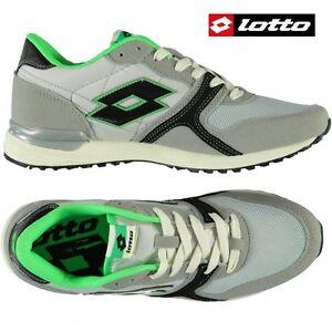 Scarpe-Uomo-sportive-sneakers-passeggio-LOTTO-RECORD-V-MSH-Suede-e-mesh