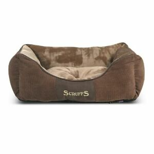 Scruffs & Tramps Lit Couchage Pour Animaux Chester Taille S 50x40cm Marron 1163