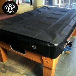 eBay & Details about JONNY 8 BALL Heavy Duty Water Resistant 8ft Pool Table Cover - 8FT BLACK