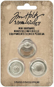 Tim Holtz® Idea-ology® Mini Hardware Metal Knobs TH93571 NEW