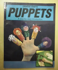 Puppets Creative Crafts - A step-by-step introduction - Fingerpuppen basteln