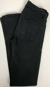 COH-Citizens-Of-Humanity-Avedon-Slick-Skinny-Leg-Low-Rise-Jeans-Black-Sz-26