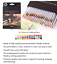 Watercolor Pencils 24 36 48 72 Professional Colored Pencils Water-soluble Pens S