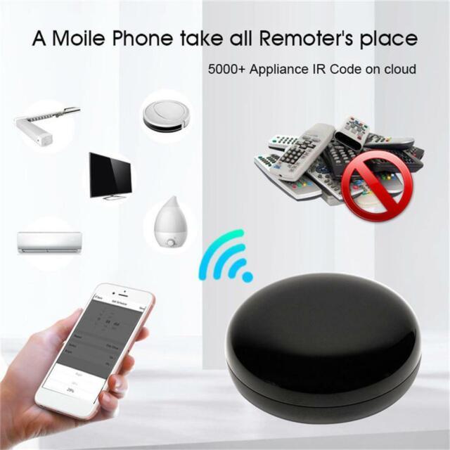 WiFi IR Smart Home Remote Controller Control For TV Alexa Air Conditioner Lamp