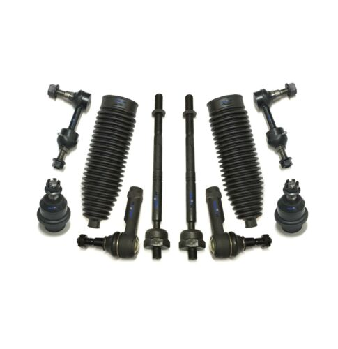 10 Pc Front Suspension Kit for F-150 Mark LT Ball Joints Tie Rod Ends Sway Bars