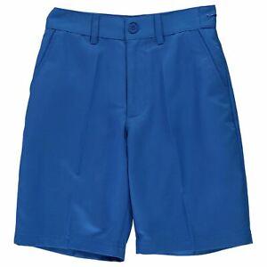 Slazenger-Enfants-Garcons-Golf-Short-Junior-Pantalon-Pantalon-Leger-Zip