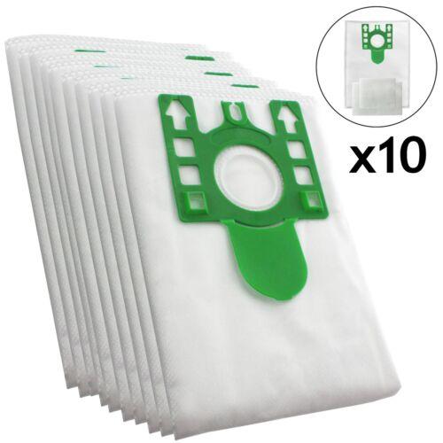10 X Tipo U Hyclean Sacchetti Per Aspirapolvere Per Miele Hoover DUST BAG S7510 FILTRI