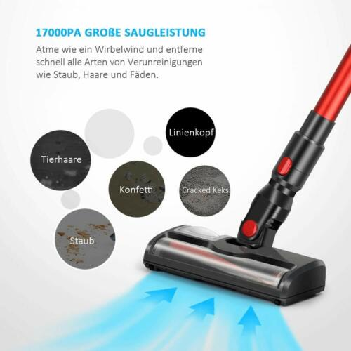Eslife Battery Vacuum Cleaner, Cordless Hand Vacuum Cleaner BL Motor, 8000 PA suction power