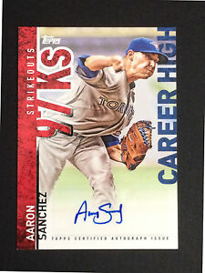 Aaron-Sanchez-signed-2015-Topps-career-high-CH-AS-autograph-auto-baseball-card