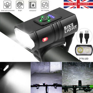 Bicycle Light Rechargeable USB 10w t6 LED Front Bicycle Lamp