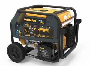 NEW Firman H08051 10000/8000W 120/240V 30/50A Elec. Start Gas/Propane Dual Fuel