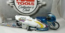 NHRA Antron Brown Troy Vincent Mac Tools Team 23 1999 Pro Stock Bike 1:9 Action