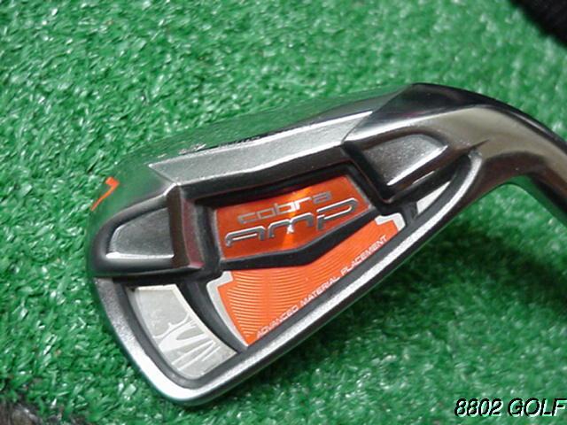 Nice King Cobra Amp 7 Iron Dynalite 90 Steel  Regular Flex