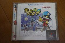 Kaze no Klonoa Door to Phantomile Sony Playstation Japan TESTED! RARE