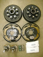 7,000 Build Your Own Axle Kit W/ Electric Brakes Drum Hub Trailer