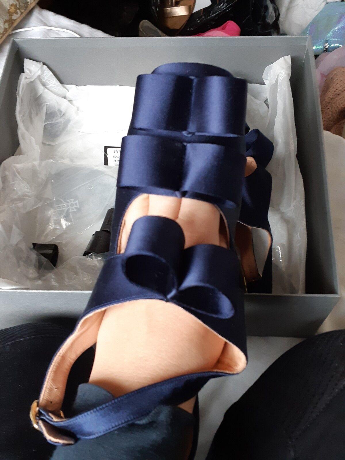 Vivienne Westwood Satin Bow 7 Shoes Size 7 Bow e2d8de
