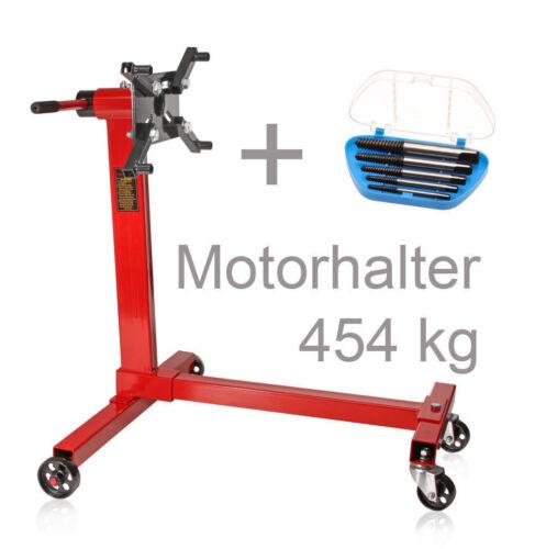 5 extracteur de vis Support de moteur en acier sur roulettes 454 KG