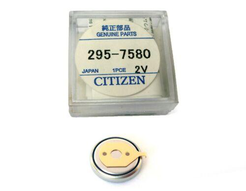 Citizen Eco-Drive Capacitor Solar Battery 295-7580