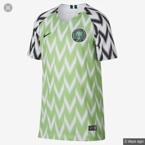 outlet store 768c8 0d957 Details about 2018 Nike Nigeria Stadium WOMEN (XL) Home World Cup Jersey  X-Large
