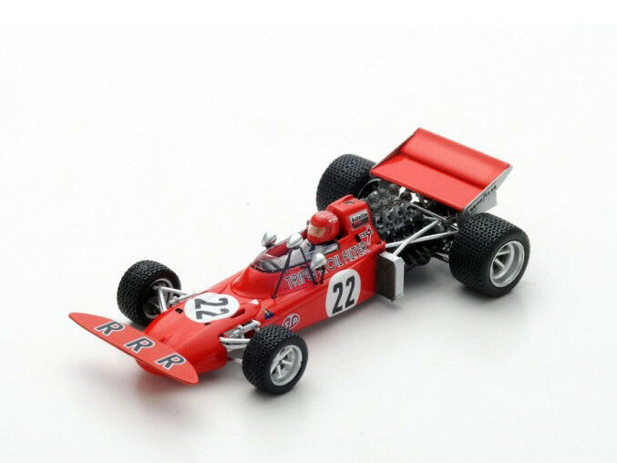 Spark Model 1:43 s5361 March 711 F.1 Ford  22 Holland GP 1971 Skip Barber NEW