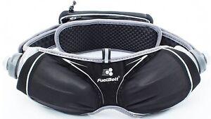 FuelBelt-Helium-Ergo-Hydration-Bottle-Belt-Black-Adjustable-Running-Waist-Bag