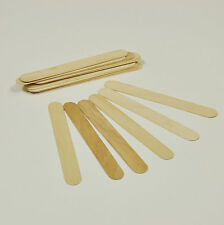 100X Wooden Disposable Waxing Spatulas High Quality Wooden Wax Applicator New