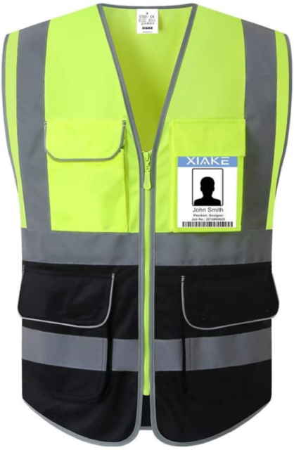 Chalecos Reflectantes De Seguridad Para Hombre Mujer Chaleco Construccion