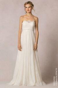 Image Is Loading Jenny Yoo Luella Wedding Dress Size 10 New